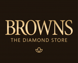 Browns The Daimond Store Logo